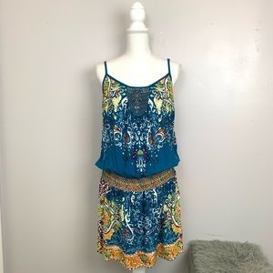 Lucky Brand Printed Tank Dress